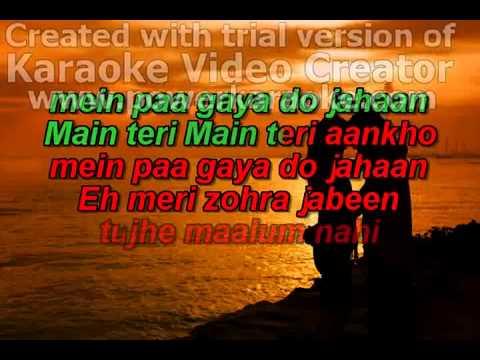 Ay Meri Zohra Jabeen karaoke  Request By Stockakun ) flv