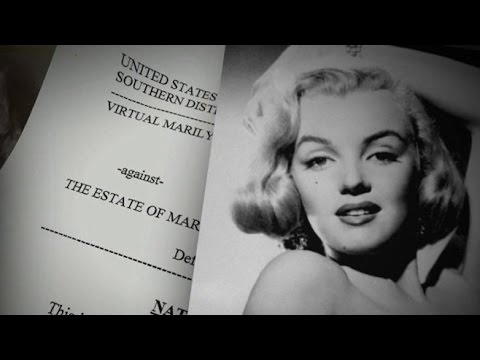 The Fight Over Virtual Marilyn Monroe