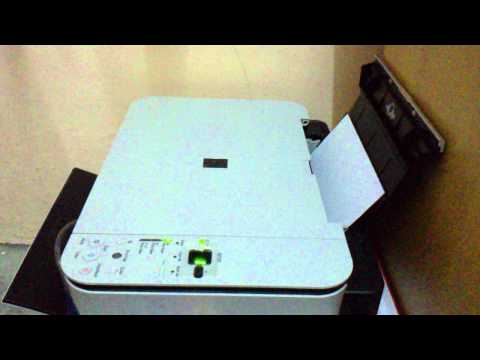 Printer Canon Pixma MP258 CISS problem