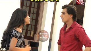 Fight between Kartik and Naira in Yeh Ristha Kya Kehlata Hai