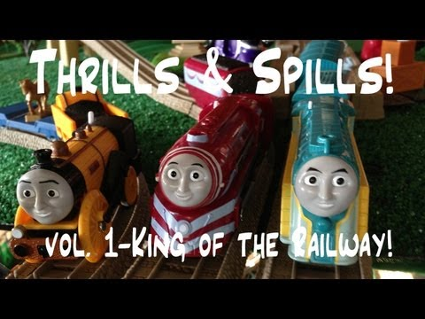 Thomas and Friends Trackmaster Village Thrills & Spills vol.1 King of the Railway!