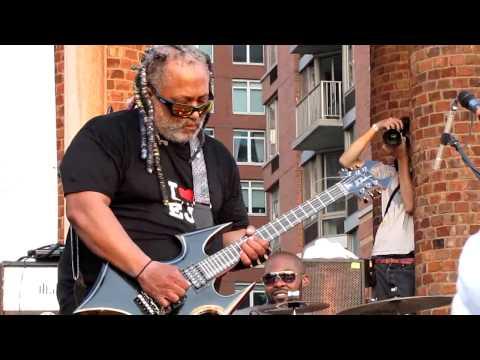 George Clinton&P-Funk, Maggot Brain, Rockefeller Park, NYC 7-12-12