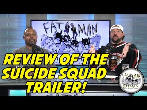REVIEW OF THE SUICIDE SQUAD TRAILER! - FAT MAN ON BATMAN 044
