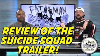 REVIEW OF THE SUICIDE SQUAD TRAILER!