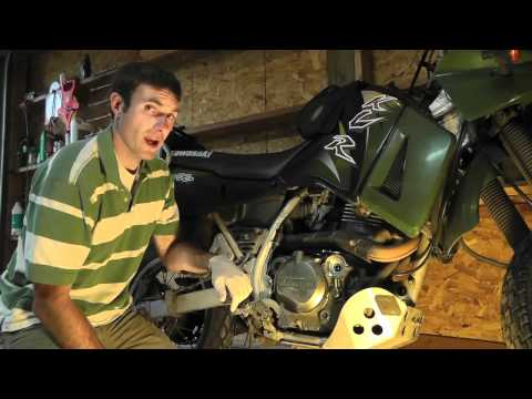 KLR 650 Maintenance: How to Perform an Oil Change