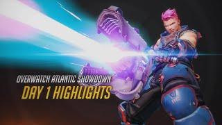Overwatch Atlantic Showdown Day 1 Highlights   gamescom 2016