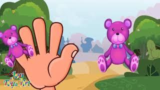 The Finger Family Bear  Family Nursery Rhyme | Kids Animation Rhymes Songs #2
