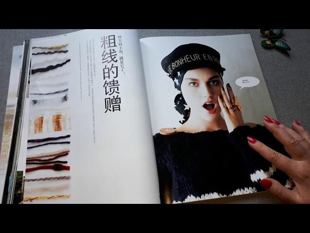 Keito dama . Японский журнал по вязанию. Обзоо.