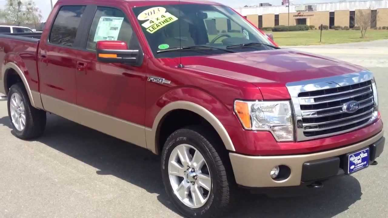 new 2013 ford f 150 lariat 4x4 ruby red youtube. Black Bedroom Furniture Sets. Home Design Ideas
