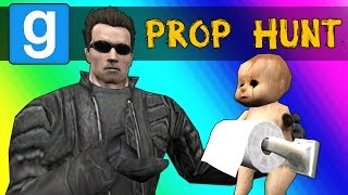 Gmod Prop Hunt Funny Moments - Haunted House of Babies (Garry