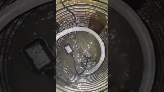Torrential Rain! Watch how quickly our sump pump pumps water from our pit... St. Louis MO