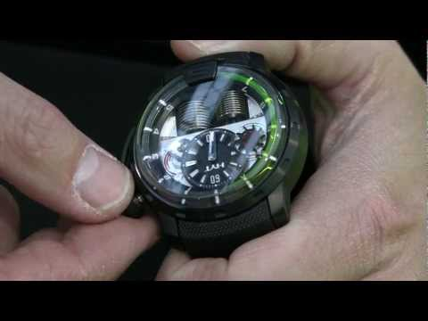 HYT H1 Hydro Mechanical Watch Presented