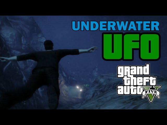 GTA V Easter Egg - Underwater UFO