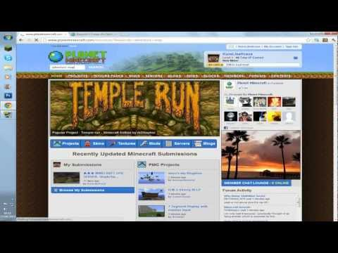 Minecraft 1.3.2: How to Download and Install any Adventure map | Windows Mac OS