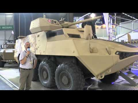 Eurosatory 2014 General Dynamics Land LAV Demonstrator - Christopher F Foss
