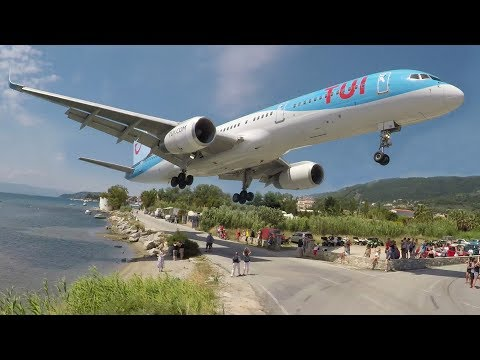 WoW! SKIATHOS 2017 - LOW Landings and JETBLASTS