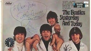 Álbum dos Beatles mais raro do mundo vai a leilão em novembro   SBT Notícias (31/10/17)