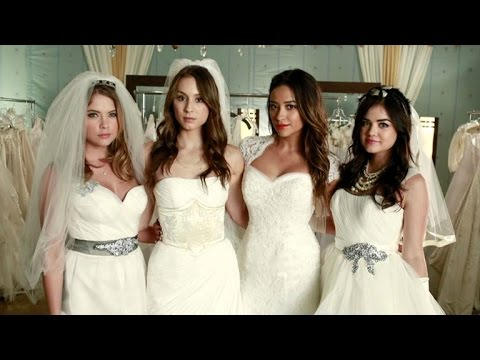 EXCLUSIVE: The Stars of 'Pretty Little Liars' Plan Their Character's Dream Weddings!