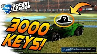 ONLY 4 OF THESE EXIST! - Rocket League Trading (Rarest Crate Opening, Painted, & Alpha Items)