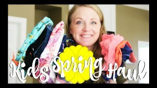 KIDS SPRING & SUMMER CLOTHING HAUL