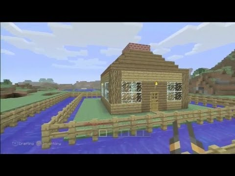 Minecraft Mob Trap Tutorial for Creepers. Skeletons. Zombies. Cows. Pigs etc.