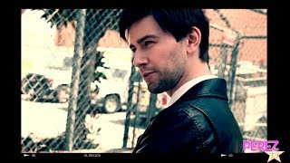 EXCLUSIVE! Torrance Coombs Talks Reign & Speaks French... Behind The Scenes Of His Photo Shoot!