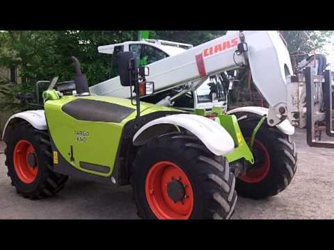 2005 Claas Targo K50 Telehandler - YouTube