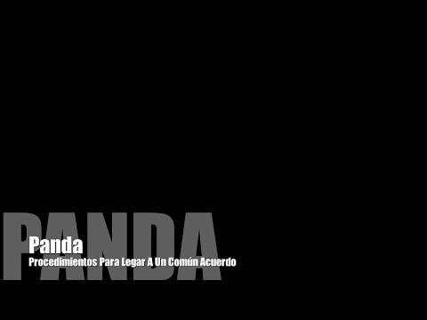 Panda- Procedimientos Para Llegar A Un Común Acuerdo