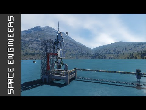 Space Engineers - Launching an Unmanned Satellite!