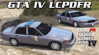 GTA IV LCPDFR MP - Mississippi Highway Patrol - Testing LCPDFR 1.0d
