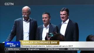 Daimler, maker of Mercedes cars, takes the lead in luxury vehicle sales