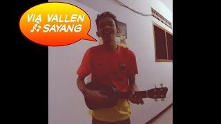 download lagu Sepenggal Via Vallen - Sayang Cover Ukulele gratis