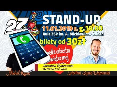 Stand-up W Lubaniu