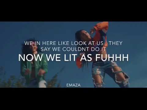 CERAADI- WE IN HERE LYRICS