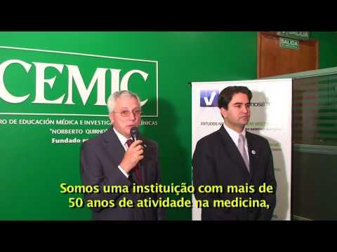 Convênio Universidade e hospital Cemic e ViveenBuenosAires.com