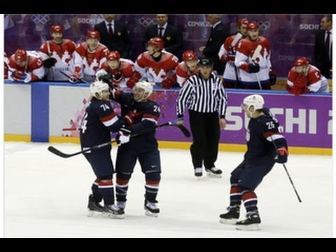Team USA beats Russia in hockey