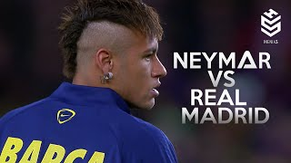 Neymar vs Real Madrid Home ● 1080i HD ● 22-03-15
