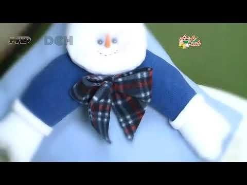 Cojín navideño con Frosty