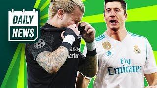 TRANSFER NEWS: Lewandowski demands transfer to Real Madrid, Karius to Serie C ► Daily Football News