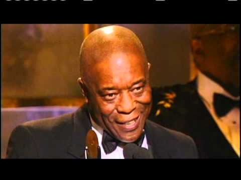 Buddy Guy accepts award Rock and Roll Hall of Fame Inductions 2005