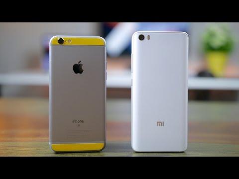 Xiaomi Mi 5 vs iPhone 6S