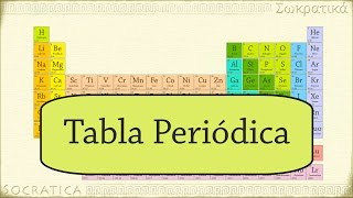 Química: Introducción a la Tabla Periódica