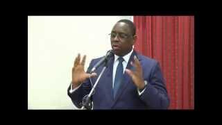 Macky Sall rencontre les sénégalais d'Allemagne