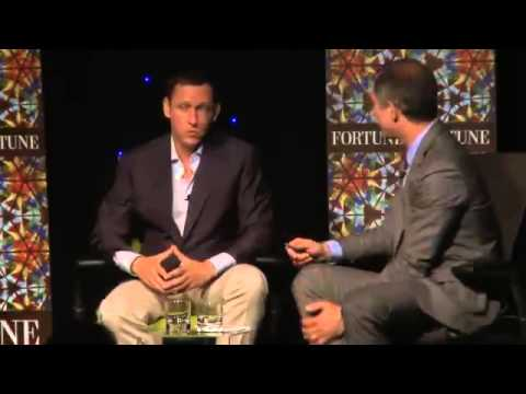 2012 - Eric Schmidt and Peter Thiel - Debate