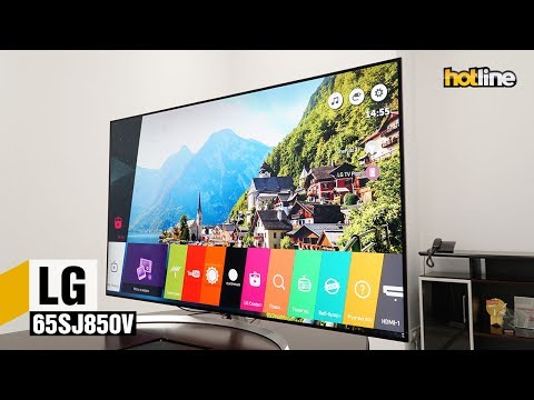 LG 65SJ850V — обзор 4K-телевизора