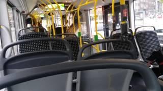 Mitfahrt im MAN NG 323 lion's city G stoag Linie SB91
