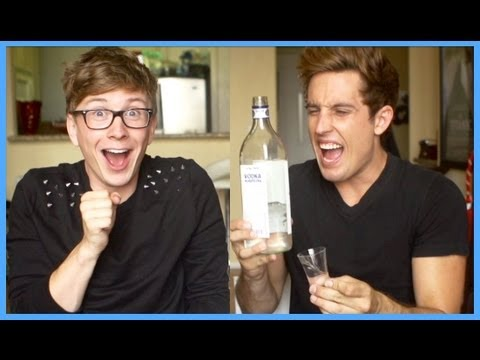 The DRUNK Humming Challenge (ft. Sawyer Hartman) | Tyler Oakley thumbnail
