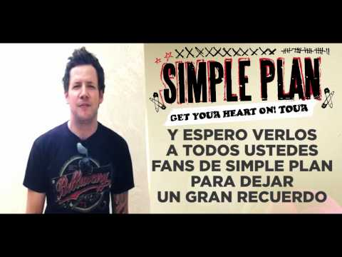 Simple Plan saluda a sus fans peruanos y pide no perderse concierto en Lima (VIDEO)
