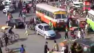 Try crossing this street in India!! Part 2