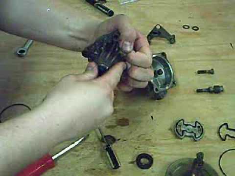 Porsche 944 Power Steering Pump Rebuild Youtube